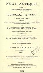 John Harrington - Poet