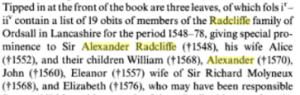 alexander radcliffe